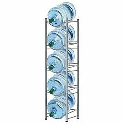 Water Bottle Rack Storage 5 Tier Shelf System Stand For 5 Ga