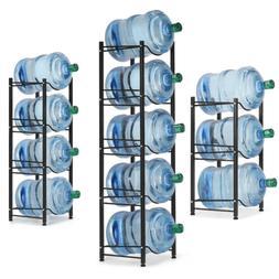 Water Bottle Storage Rack for 5 Gallon Water Jug Shelf Dispe