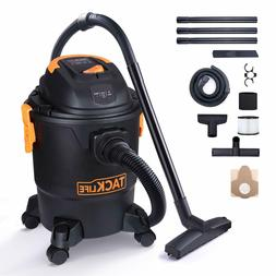 TACKLIFE Wet Dry Vacuum, 5 Gallon, 5.5 Peak HP with 20 FT Cl