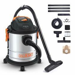 TACKLIFE Wet Dry Vacuum, 5 Gallon, 5.5 Peak HP, 1000W Stainl